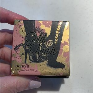 Benefit Gold Rush Warm Golden Nectar Blush NEW